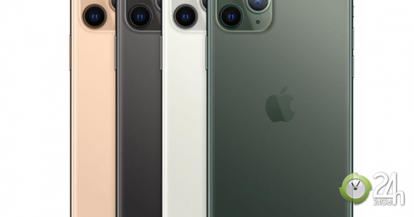 Đâu là phiên bản màu được yêu thích nhất trên iPhone 11 Pro Max?-Thời trang Hi-tech