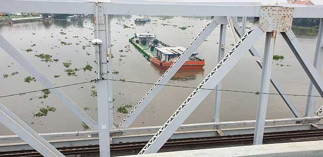 Chuyến tàu cuối cùng chạy trên cầu đường sắt gần 120 tuổi ở Sài Gòn - 7