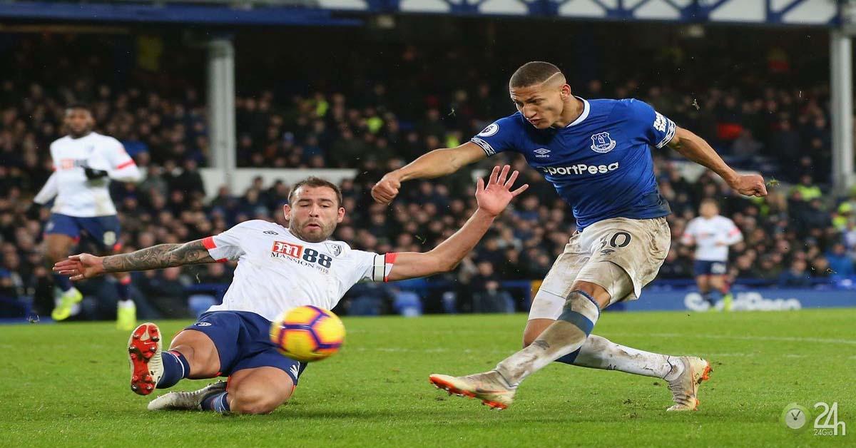 Trực tiếp bóng đá Bournemouth - Everton: Thời cơ để bắt kịp Man City (Vòng 5 Ngoại hạng Anh)