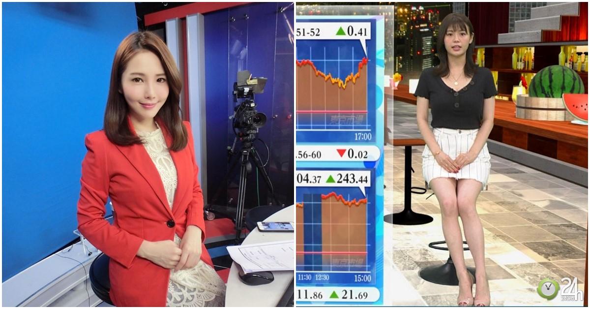 2 MC bản tin tài chính nóng bỏng nhất châu Á: Đẹp một chín một mười