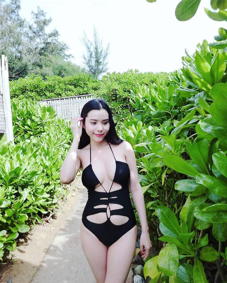 Gu ăn mặc đi đâu cũng nổi bật của Hoa hậu Du lịch Huỳnh Vy - 2