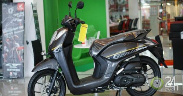 Xe ga mới Honda Genio 110 giá 28,8 triệu đồng hút nam nữ sinh viên Việt