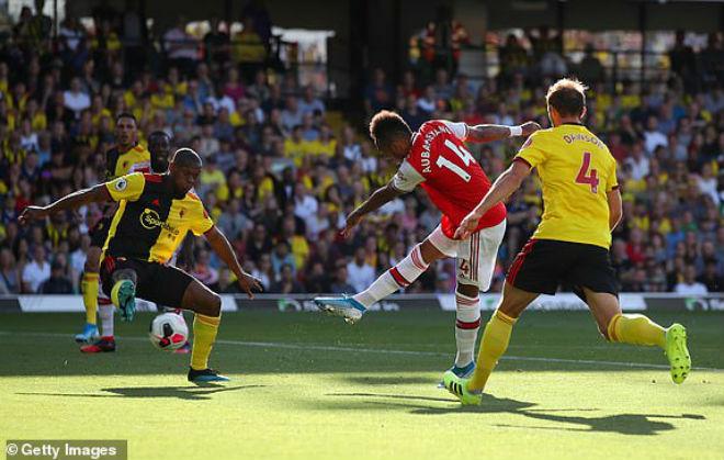 Video highlight trận Watford - Arsenal: Ngược dòng kỳ tích, phần thưởng bất ngờ (Vòng 5 Ngoại hạng Anh) - 1