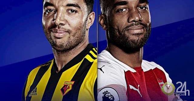 Trực tiếp bóng đá Watford – Arsenal: Kiếm 3 điểm vượt mặt MU – Chelsea (Vòng 5 Ngoại hạng Anh)