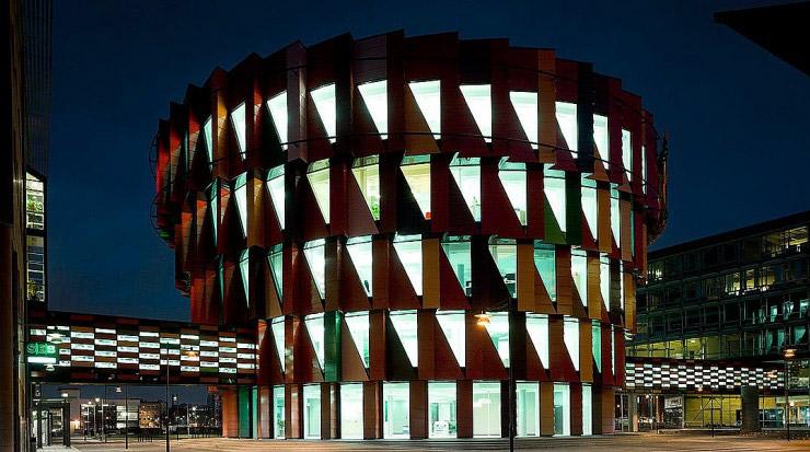 """Những tòa nhà """"đến từ tương lai"""" có kiến trúc cực kỳ bắt mắt - 6"""