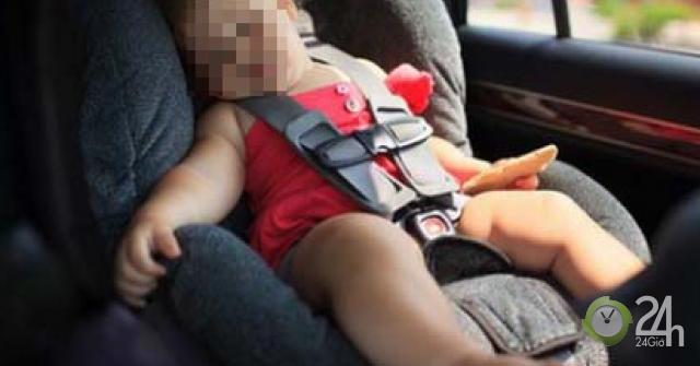 Cách phòng sốc nhiệt cho trẻ khi đi xe hơi-Sức khỏe đời sống