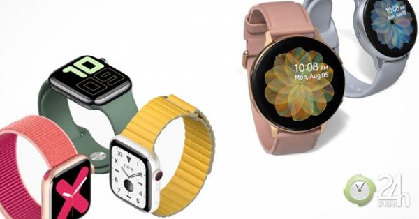 Apple Watch Series 5 và Galaxy Watch Active 2: Ai là người thắng cuộc?