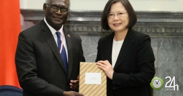 """Đảo quốc Thái Bình Dương chính thức quay lưng với Đài Loan vì """"mật ngọt"""" TQ-Thế giới"""