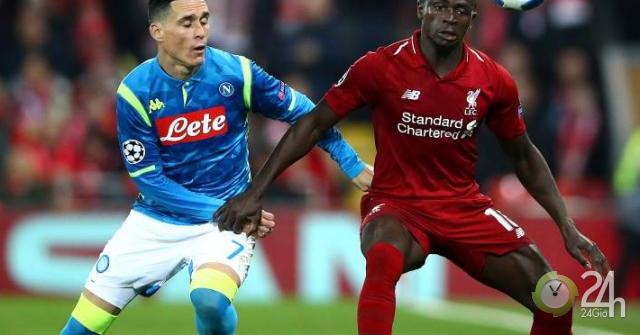Trực tiếp bóng đá cúp C1 Napoli - Liverpool: Llorente nhân đôi cách biệt (Hết giờ)-Bóng đá 24h