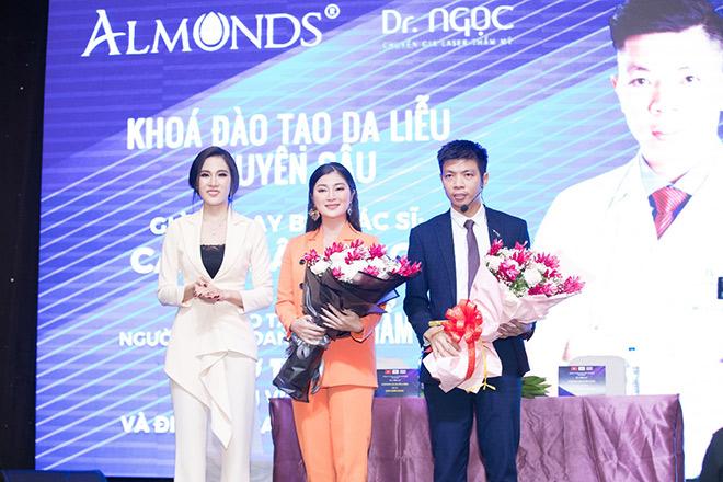 Công ty Almonds đào tạo da liễu chuyên sâu cho đại lý với sự giảng dạy của bác sĩ Cao Xuân Ngọc. - 2