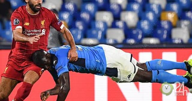 Kết quả bóng đá cúp C1, Napoli - Liverpool: Đôi công bốc lửa, đẳng cấp siêu trung vệ (Hiệp 1)-Bóng đá 24h