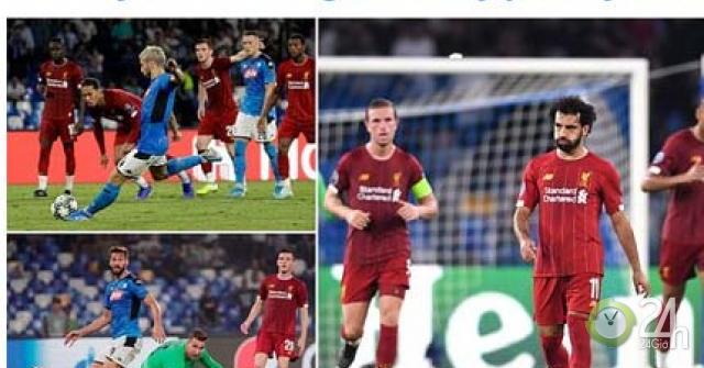 """ĐKVĐ Liverpool thua sốc ra quân cúp C1: Báo chí """"tấn công"""" Van Dijk - Klopp-Bóng đá 24h"""