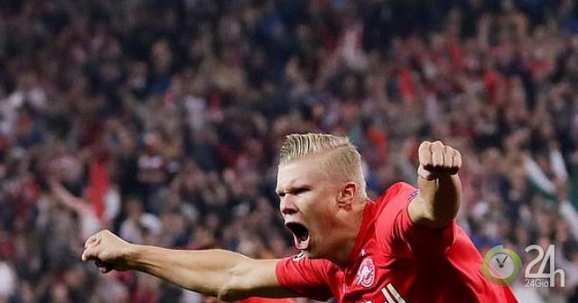 """Sao trẻ lập hat-trick """"gây bão"""" cúp C1: Kỳ tích 15 năm như Rooney ở MU-Bóng đá 24h"""
