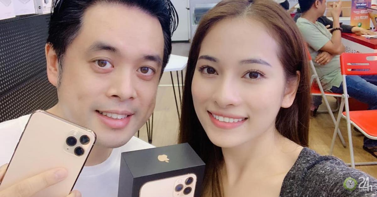 Vợ kém 13 tuổi phải 'giành giật' mua iPhone 11 Promax tặng Dương Khắc Linh - Ngôi sao