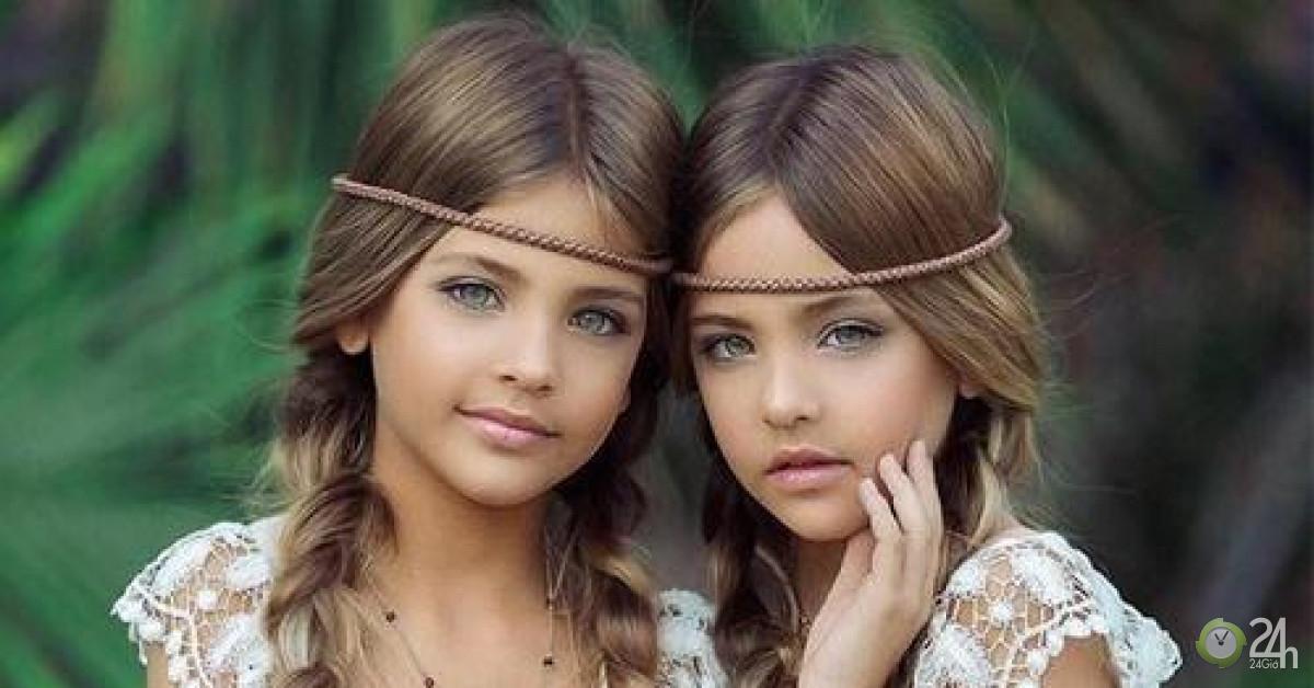 9 tuổi, cặp song sinh đẹp nhất thế giới đã kiếm được hàng triệu đô la mỗi năm