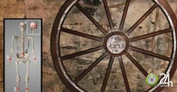 Bộ xương hé lộ màn tra tấn tàn bạo thời Trung Cổ-Thế giới