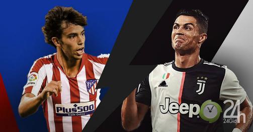 Trực tiếp bóng đá cúp C1 Atletico Madrid - Juventus: Ronaldo đấu truyền nhân 120 triệu euro