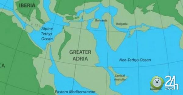 Tìm thấy lục địa thứ 8 ẩn sâu 1.500km dưới lòng đất ở châu Âu-Thế giới