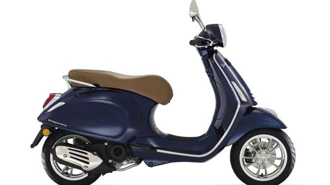 Vespa trình làng xe tay ga Primavera và Vespa Sprint 50 cc mới
