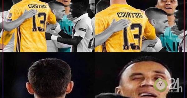 Ảnh chế: Real Madrid ôm hận khi hắt hủi Navas để chọn Courtois