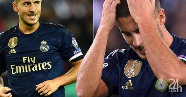 """Hazard - Real ra mắt thảm họa cúp C1: Huyền thoại MU """"xát muối nỗi đau""""-Bóng đá 24h"""