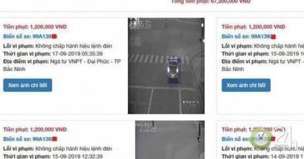 Thực hư thông tin việc tài xế taxi ở Bắc Ninh bị phạt nguội gần 70 triệu đồng - Tin tức 24h