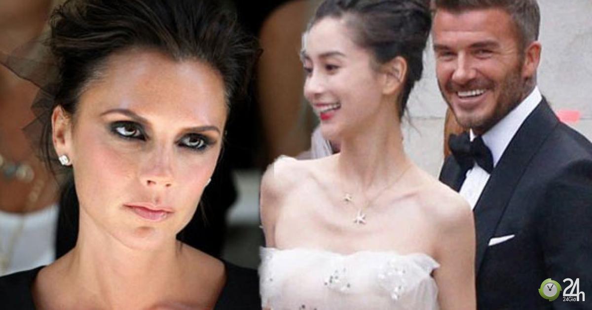 Vợ David Beckham ghen tuông khi thấy ảnh chồng chụp với AngelaBaby? - Ngôi sao