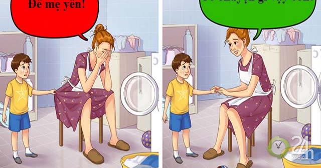 Lời nói như dao găm, nhất định bố mẹ cần tránh 10 cụm từ tưởng an toàn nhưng lại rất độc hại