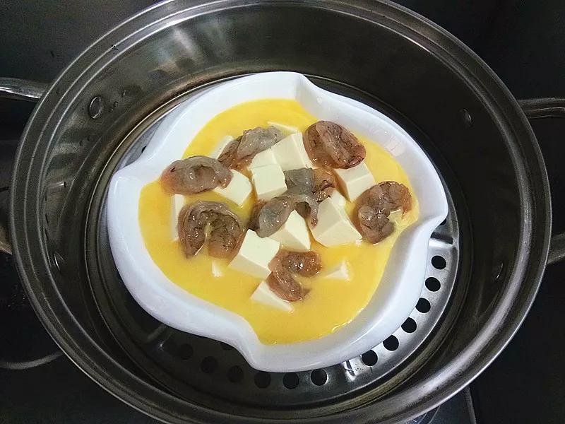 Cách làm đậu phụ hấp tôm trứng mềm mịn, ngọt thơm - 7