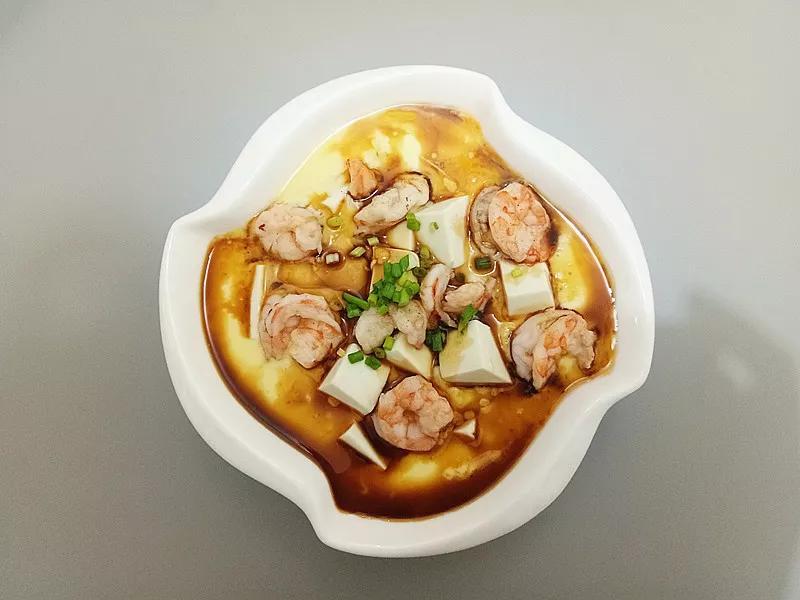 Cách làm đậu phụ hấp tôm trứng mềm mịn, ngọt thơm - 9