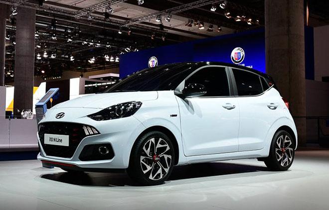 Cận cảnh Hyundai i10 N-Line 2020 với thiết kế thể thao và năng động hơn