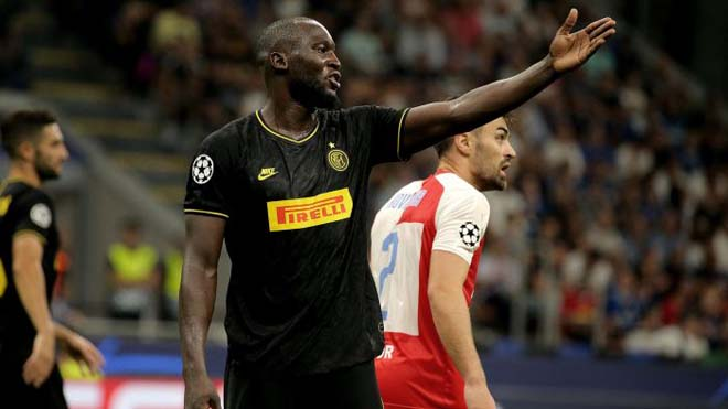 Lukaku suýt tẩn đồng đội sau trận hòa đội yếu ở C1