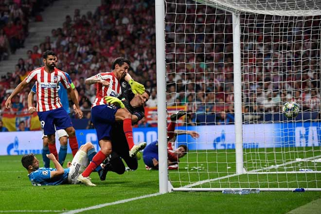 Atletico Madrid - Juventus: Ronaldo nỗ lực, vỡ òa phút 90 - 2
