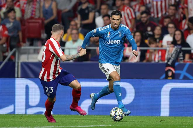 Atletico Madrid - Juventus: Ronaldo nỗ lực, vỡ òa phút 90 - 1