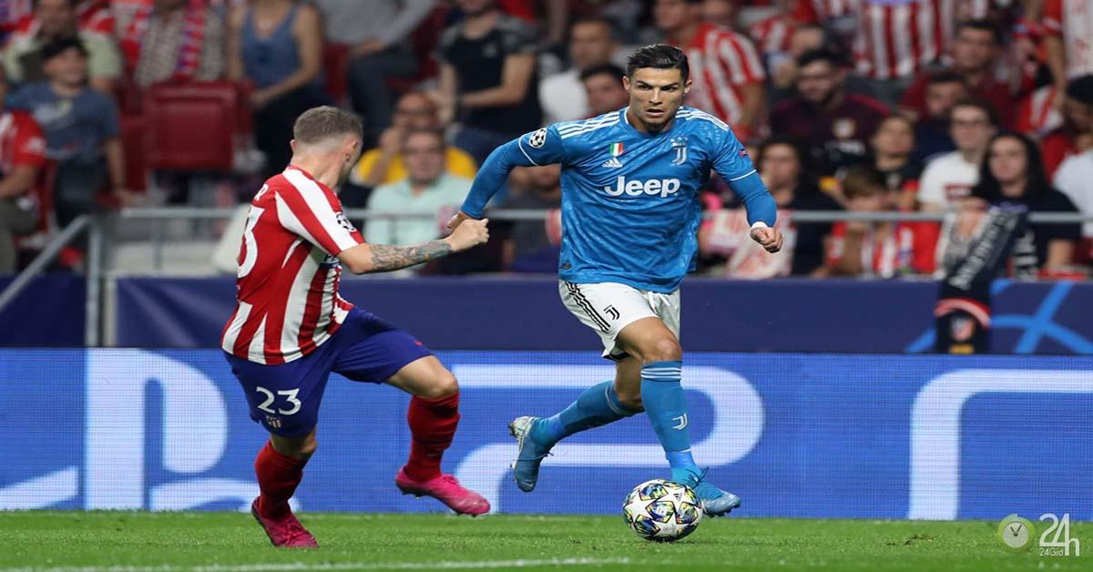 Kết quả bóng đá Atletico Madrid - Juventus: Ronaldo nỗ lực, vỡ òa phút 90
