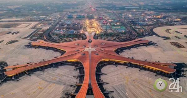 """Trung Quốc sắp khánh thành """"siêu sân bay"""" tại Bắc Kinh trước thềm quốc khánh"""
