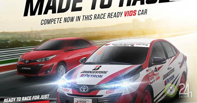 Toyota rao bán dòng xe đua Vios cho khách hàng thị trường Philippines