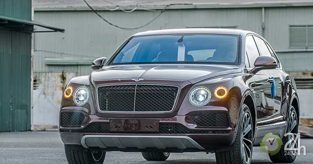 SUV siêu sang Bentley Bentayga bản kỷ niệm 100 năm đầu tiên có mặt tại Việt Nam