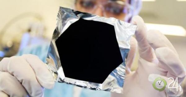 """Vô tình tạo ra vật thể đen nhất xưa nay, đen """"gấp 10 lần"""" vật đen nhất từng biết-Thế giới"""