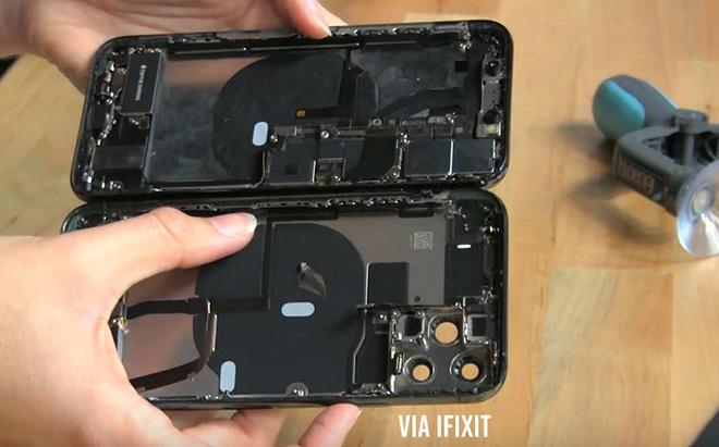iFixit mổ bụng iPhone 11 Pro Max phát hiện khả năng sạc không dây ngược bị ẩn? - 4