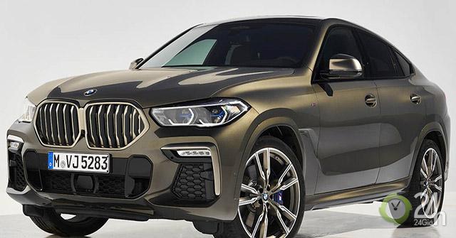 Cận cảnh BMW X6 M50i thế hệ mới vừa được ra mắt tại châu Âu