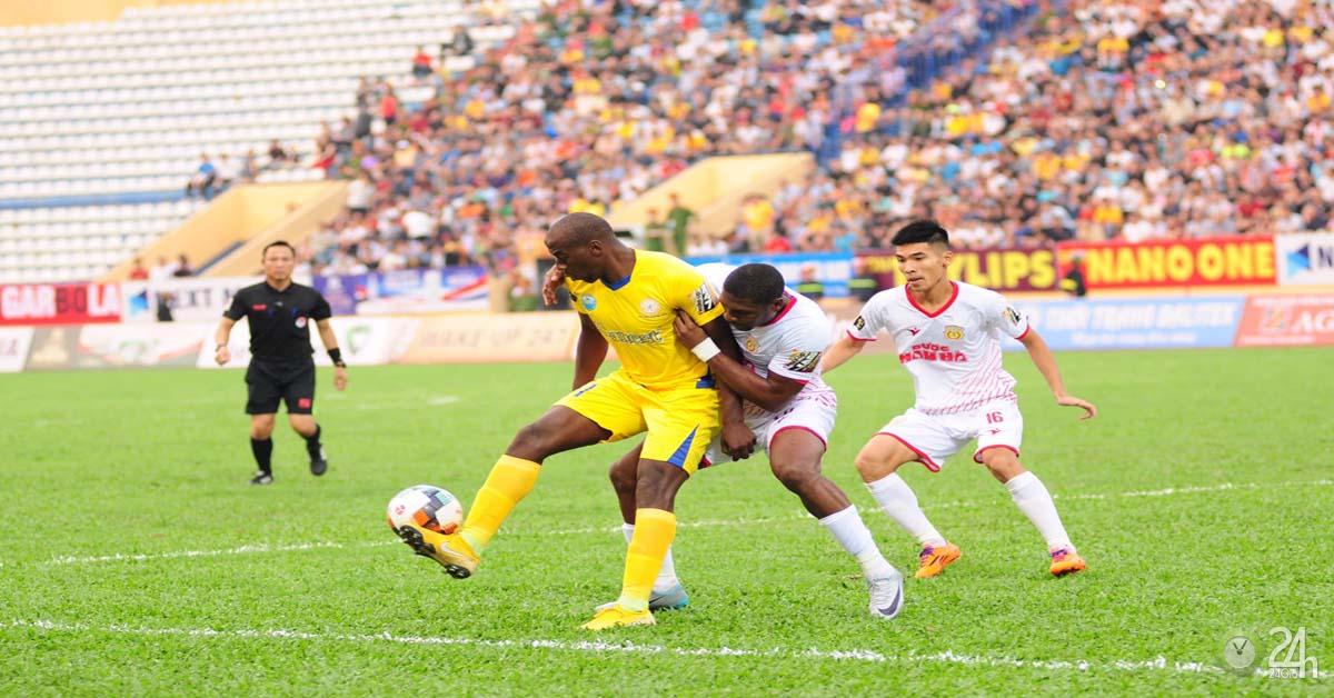Trực tiếp bóng đá Khánh Hòa - Nam Định: Nghẹt thở đua trụ hạng