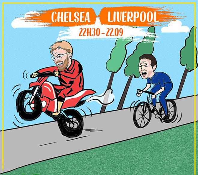 Ảnh chế: Chelsea đấu Liverpool, cuộc chiến không cân sức - 2