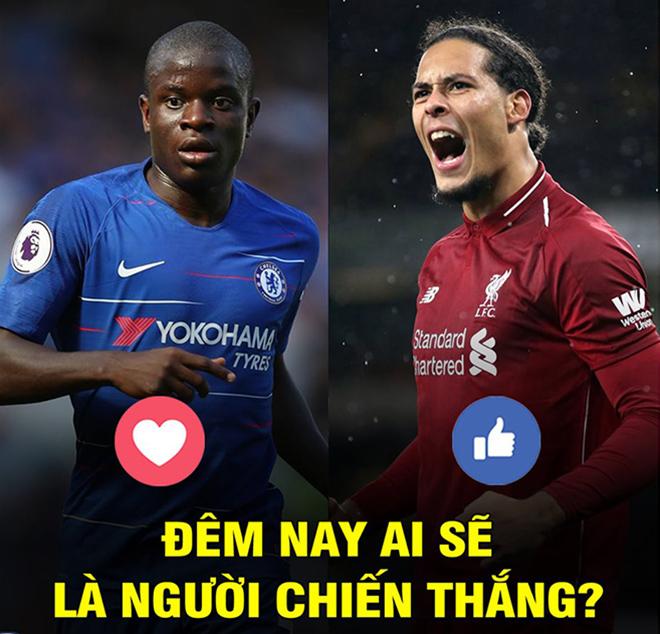 Ảnh chế: Chelsea đấu Liverpool, cuộc chiến không cân sức - 3