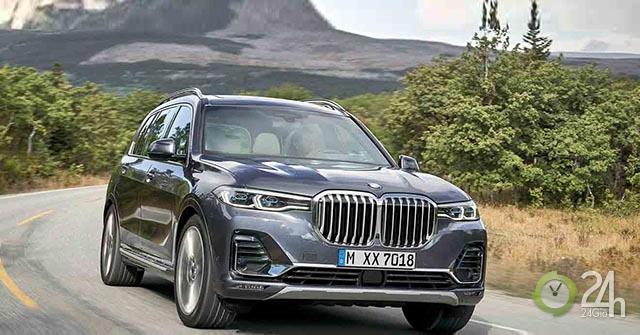 Rò rỉ màn hình công-tơ-mét của động cơ V12 6.0L được cho là BMW X7