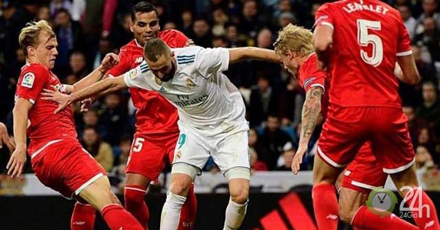 Trực tiếp bóng đá Sevilla - Real Madrid: Giữa muôn trùng khó khăn (Vòng 5 La Liga)