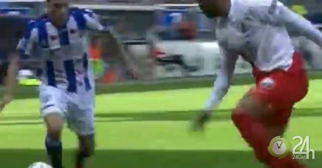 Video highlight trận Heerenveen – Utrecht: Hai bàn hấp dẫn, chờ Văn Hậu vào sân