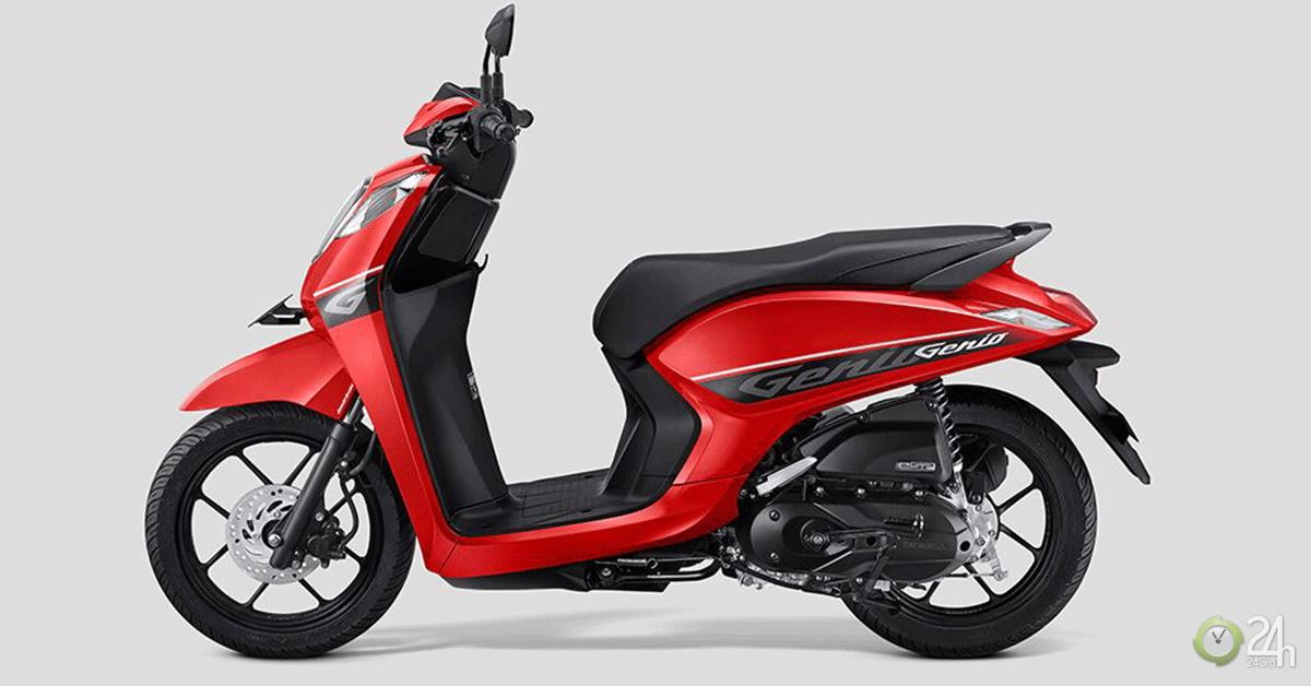 Honda ra mắt Genio mới, giá từ 32 triệu đồng khiến chị em mê mệt