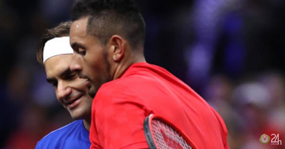 Gã điên Kyrgios khiến Federer nóng mặt: Đang đánh đòi cưới nữ khán giả