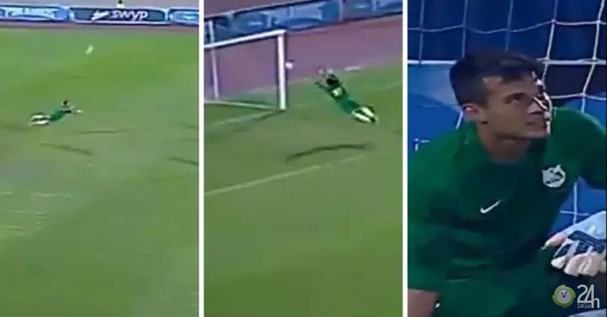 Người nhện đỉnh hơn cả Neuer: 4 giây chạy 20m cứu thua không tưởng